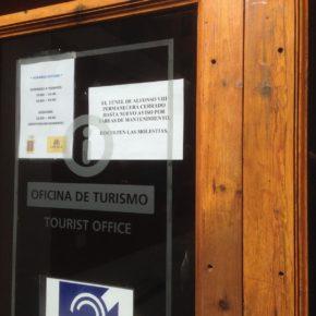 Cs denuncia el cierre de los túneles turísticos de la calle Alfonso VIII y Calderón de la Barca