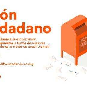 Cs pone en marcha un 'Buzón Ciudadano' para dar participación a los conquenses en su programa electoral