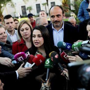 """Arrimadas: """"Estamos preparados para gobernar España"""""""