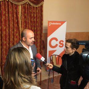 """Francisco Fernández-Bravo: """"Desde Cs llevamos cuatro años trabajando en medidas que favorezcan la instalación de empresas en Ciudad Real"""""""