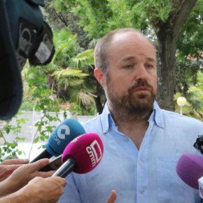 """Alejandro Ruiz: """"Esta formación política no tienen ningún acuerdo con el PSOE de C-LM"""""""