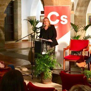 """Virginia Espinosa: """"Cs es el partido de las mujeres, de la igualdad y del futuro"""""""