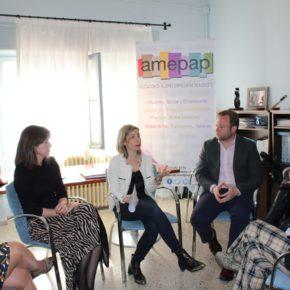 Cs se reúne con la directiva de la Asociación de Mujeres Empresarias de Albacete