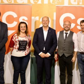 "Javier Imbroda: ""España necesita un presidente como Albert Rivera, necesita un proyecto como Ciudadanos"""