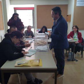 """José Luis Muñoz: """"Hoy salimos a votar con la ilusión intacta y con la responsabilidad que supone elegir el futuro de este país"""""""
