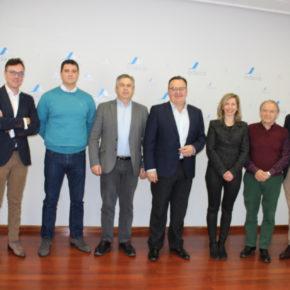 Arteaga y Faura se reúnen con los empresarios de Campollano y les agradecen su labor en la creación de empleo