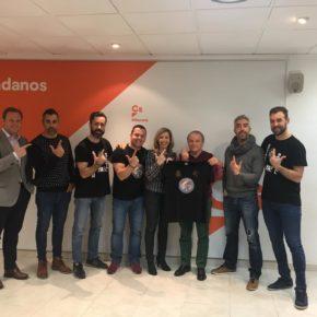 Ciudadanos se reúne con Jusapol Albacete y reafirma su compromiso con la equiparación salarial