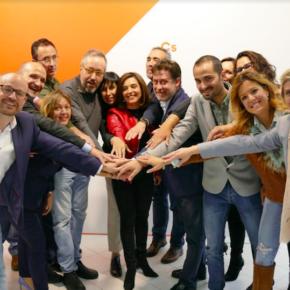 Ciudadanos Toledo presenta su candidatura al Congreso de los Diputados y Senado con Girauta y Begoña Molina al frente