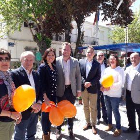 """Casañ defiende en Aguas Nuevas que """"En Albacete no puede haber ciudadanos de primera y de segunda, todos merecen los mismos servicios"""""""