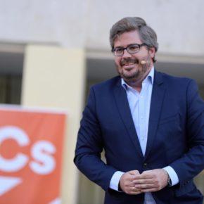 """Fran Hervías: """"Guadalajara es una de las provincias donde la ola naranja no ha parado de crecer, y ahora es momento de gobernar esta ciudad, de gobernar C-LM"""""""