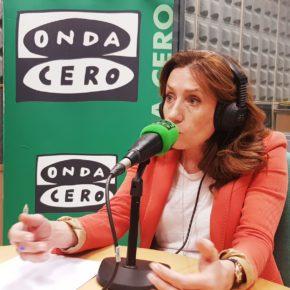 La candidata a la Alcaldía, Cristina Elena Fuentes, y Casandra Castiblanque apuran estos últimos días de campaña atendiendo a diferentes medios de comunicación