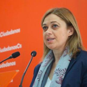 """Carmen Picazo: """"Lo único que tenemos claro es que cada vez que se ponen las urnas el proyecto de Cs crece y convence"""""""