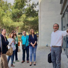 Carmen Picazo visita el Centro Integrado de Formación Profesional de Aguas Nuevas