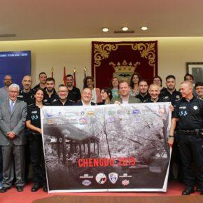 El alcalde y el vicealcalde de Albacete han recibido en el Ayuntamiento a la delegación que participará en esta competición, que se celebrará entre el 8 y el 18 de agosto, en Chengdu (China