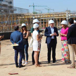 Casañ celebra el buen ritmo de las obras del nuevo colegio del barrio de Imaginalia