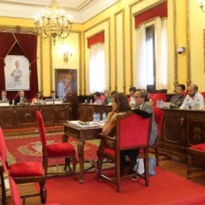 La Corporación Municipal aprueba la propuesta de Cs para que el Ayuntamiento de Guadalajara condenen la violencia durante la celebración del Orgullo