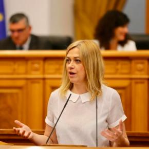 """Carmen Picazo: """"Las promesas incumplidas y la labor de Gobierno durante la anterior etapa hacen que hoy no podamos votar a favor de la investidura de García-Page"""""""