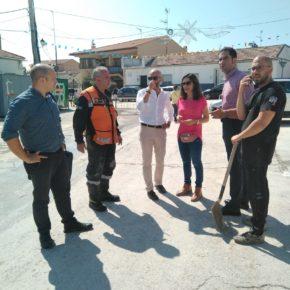 Ciudadanos Borox pedirá la zona catastrófica y ensalza la solidaridad prestada por los vecinos