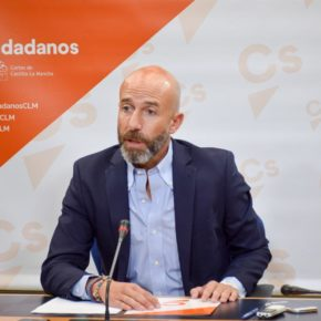 Ciudadanos solicita un debate en las Cortes sobre la situación de endeudamiento que sufre Castilla-La Mancha