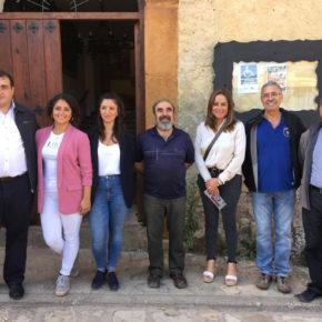 La portavoz de Cs Guadalajara, Olga Villanueva, reconoce el gran trabajo que se realiza en Geoparque de Molina y su valor geológico, natural y educativo