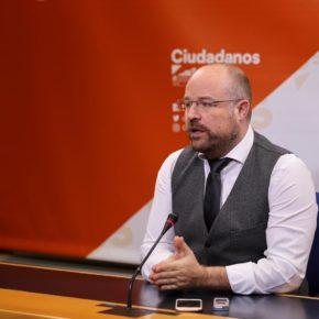 """Ruiz (Cs): """"La misma justificación que usaba Cospedal para cerrar colegios en C-LM hoy la aplica el PSOE, son lo mismo"""""""