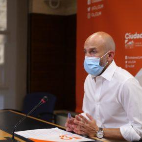 Ciudadanos abierto a retomar la reforma del Estatuto de Autonomía si la situación de la crisis sanitaria lo permite