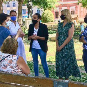 Picazo (Cs) visita Ciudad Real para conocer de primera mano los daños del pedrisco