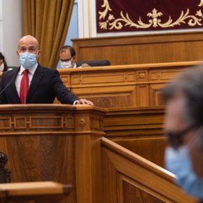 """Zapata (Cs): """"Estamos orgullosos de presentar en C-LM una Ley pionera en toda España que salvará vidas"""""""