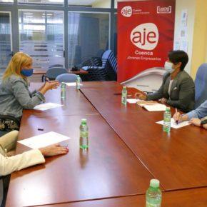 """Picazo (Cs) se reúne con AJE Cuenca y vuelve a reclamar para los autónomos """"menos buenas palabras y más ayudas reales"""""""
