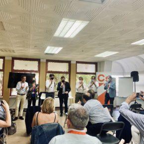 Casañ defiende la gestión medioambiental de Albacete en la convención nacional de Ciudadanos